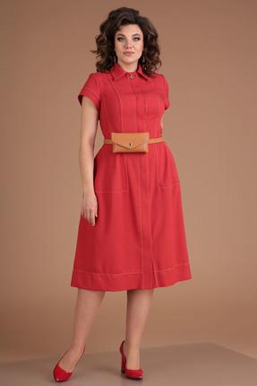 Платье Мода-Юрс 2549 красный