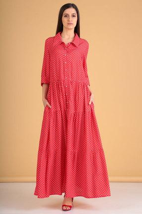 Платье Celentano 1882-1 красный