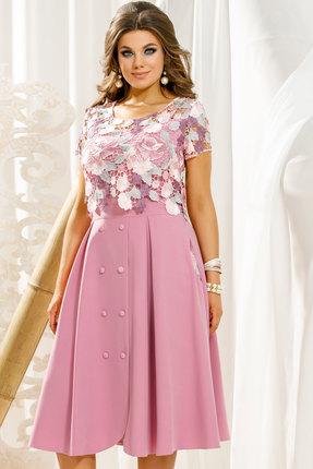 Платье Vittoria Queen 11133/1 розовая лаванда