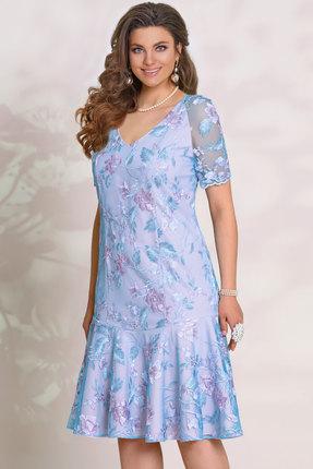 Платье Vittoria Queen 11553 голубой