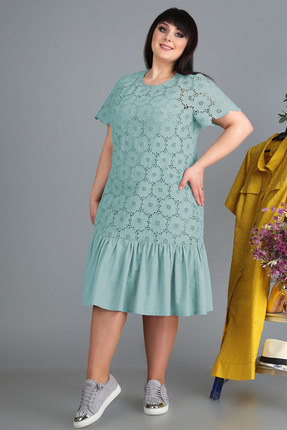 Платье Algranda 3524-с голубой