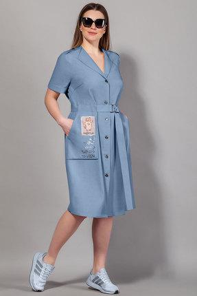 Платье Сч@стье 7058-5 синий