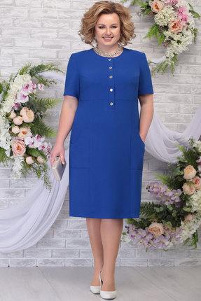Платье Ninele 2251 василёк