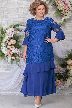 Платье Ninele 5781 василёк