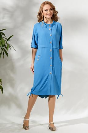 Платье Магия Моды 1717 голубой