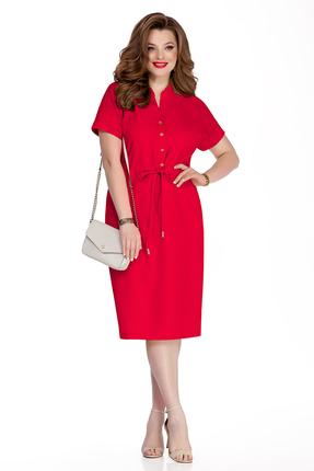 Платье TEZA 318 красный фото