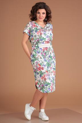 Платье Мода-Юрс 2561 цветочный