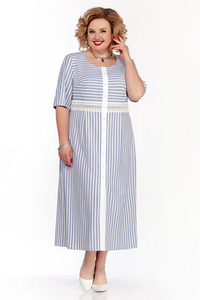 Платье Pretty 895 синий