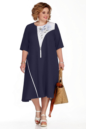 Платье Pretty 1054 синий