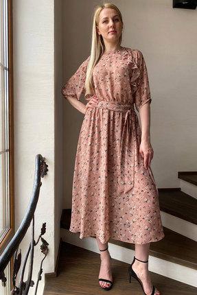 Платье Faufilure с1097 розовый фото