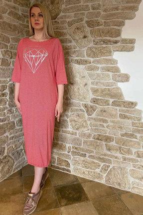 Платье Faufilure с1098 красный
