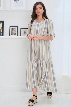 Платье Faufilure с1101 светлые тона фото