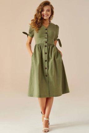Платье Andrea Fashion AF-1 хаки фото