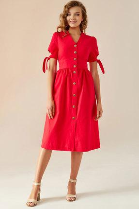 Платье Andrea Fashion AF-1 красный фото