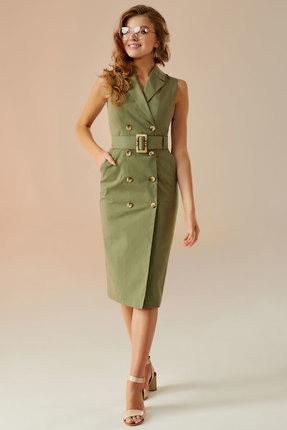 Платье Andrea Fashion AF-10 хаки
