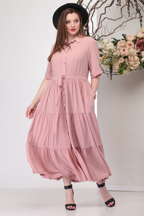 Платье Michel Chic 929 розовые тона