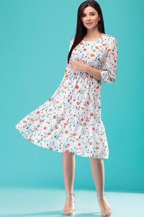 Платье Nadin-N 1763.1 белый