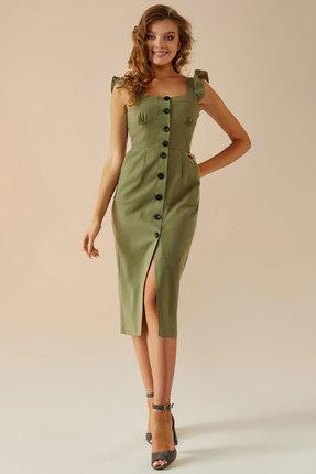 Платье Andrea Fashion AF-2 хаки