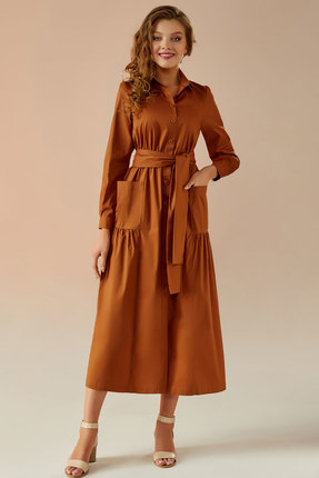 Платье Andrea Fashion AF-5 терракот