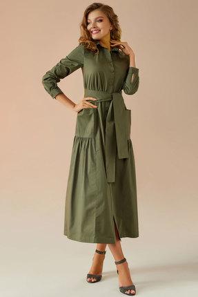 Платье Andrea Fashion AF-5 хаки