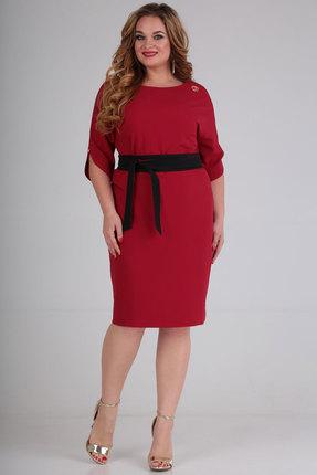Платье SOVITA 556 бордо фото