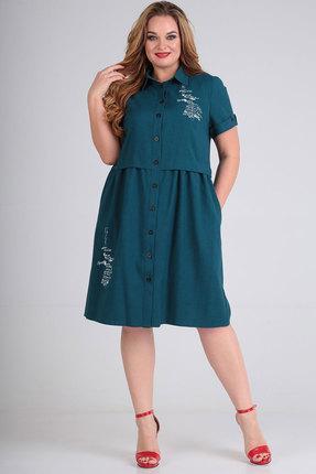 Платье SOVITA 638 морская волна