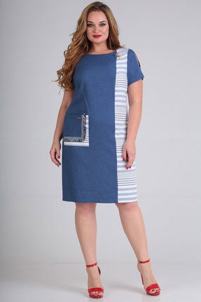 Платье SOVITA 550 синий фото
