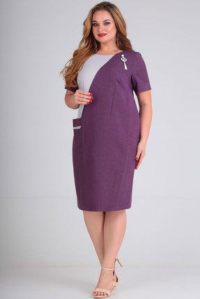 Платье SOVITA 574 сиреневый