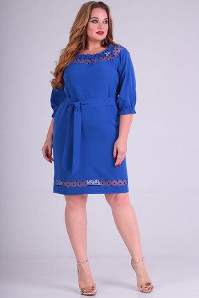 Платье SOVITA 710п синий фото
