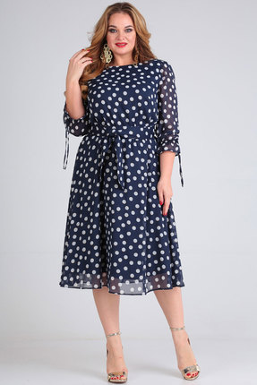 Платье SOVITA 769 синий