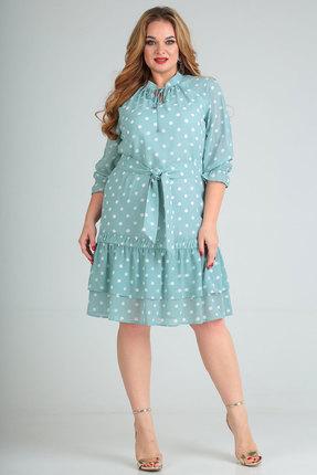 Платье SOVITA 775 голубой фото