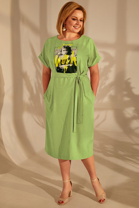 Платье Golden Valley 4680-1 салатовый