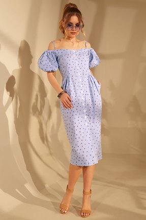 Платье Golden Valley 4681 голубой