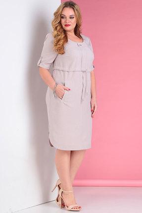 Платье Тэнси 286 бежевые тона