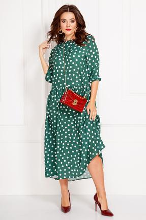 Платье Anastasia 425.1 зеленый