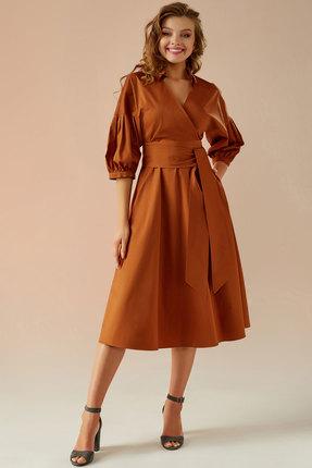 Платье Andrea Fashion AF-8 терракот