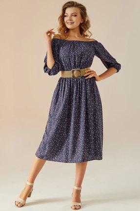 Платье Andrea Fashion AF-9 синий