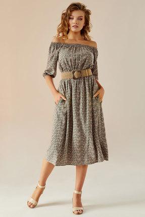 Платье Andrea Fashion AF-9 серый