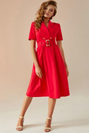 Платье Andrea Fashion AF-11 красный фото