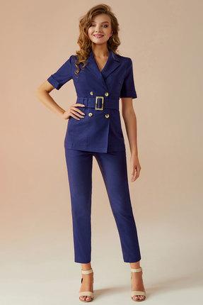 Комплект брючный Andrea Fashion AF-13 синий фото