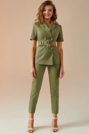 Комплект брючный Andrea Fashion AF-13 хаки