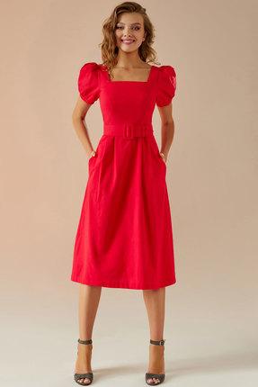 Платье Andrea Fashion AF-14 красный