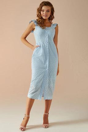 Платье Andrea Fashion AF-15 голубой