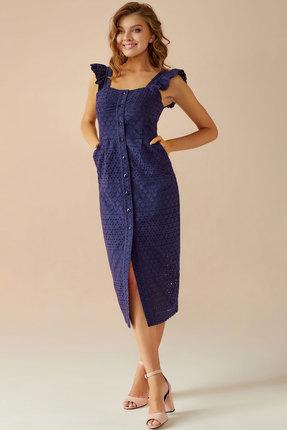 Платье Andrea Fashion AF-15 синий