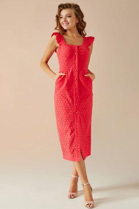 Платье Andrea Fashion AF-15 красный