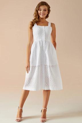 Сарафан Andrea Fashion AF-16 белый