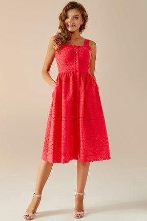Сарафан Andrea Fashion AF-16 красный