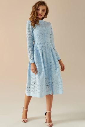 Платье Andrea Fashion AF-17 голубой