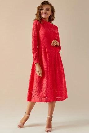 Платье Andrea Fashion AF-17 красный