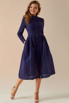 Платье Andrea Fashion AF-17 синий